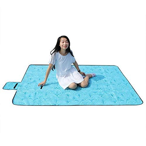 WDNMD 2 * 2m protable Naturehike Pique-Nique Blanket imperméable Camping Mat Couverture imperméable Plage d'extérieur à la Maison Pliante Camping Mat,1,5 m
