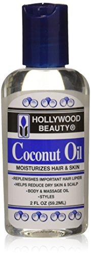 Hollywood Beauty - Hollywood Beauty Coconut Oil Moisturizes Hair & Skin 59.2 - Volume : 60 ml.