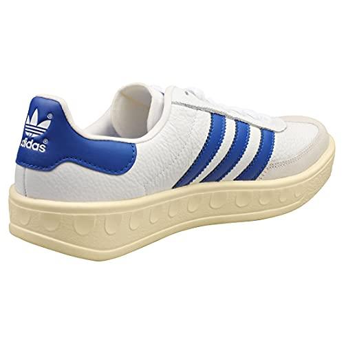 adidas Originals Barcelona, Footwear White-Blue-Cream White, 8,5