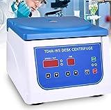 Máquina centrífuga de escritorio, centrífuga PRP con pantalla digital, ajustable de 500 ~ 4000 RPM, con capacidad para tubos de ensayo de 12 * 15 ml, adecuada para tubos de extracción de sangre de 2