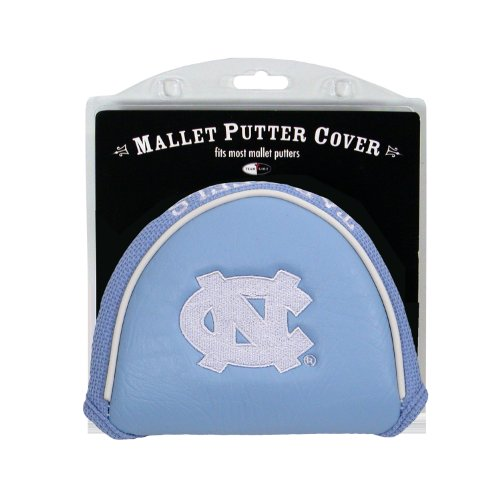 Team Golf NCAA Golf Club Mallet Putter Headcover, Fits Most Mallet Putters, Scotty Cameron, Daddy Long Legs, Taylormade, Odyssey, Titleist, Ping, Callaway, North Carolina Tar Heels