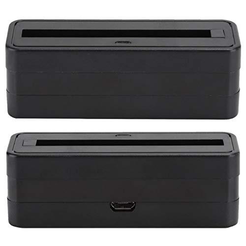 Tomanbery Mini Cargador de batería Duradero portátil de Simply Charger Station para teléfono móvil