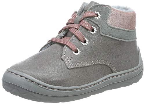 Superfit Baby Mädchen SATURNUS-50033620 Sneaker, Grau (Grau/Rosa 20), 18 EU