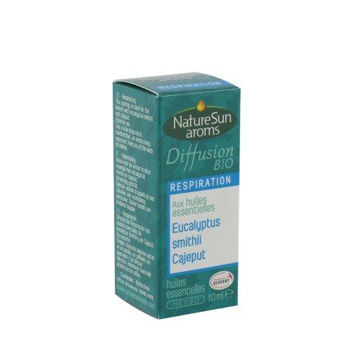 Naturesun aroms - Mélange Diffusion Respiration Bio - Flacon 10 ml