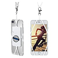 Universal Smartphone Lanyard Strap keeps your phone secure and accessible at all times. The perfect solution for sports fans, concert goers, teachers, students, hikers, seniors, travelers or anyone who wants easy access to their cell phone. Great for...