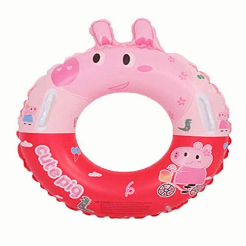 Tangminyidi Kinder Schwimmring verdickte Mädchen Jungen 1-3 Jahre alt 6-10 Kinder schwimmenring 2 Säuglinge und kleine Babys unter Armen Ring