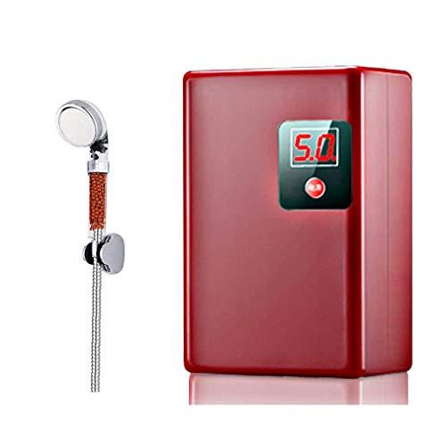 WishY Mini Durchlauferhitzer Warmwasserbereiter, Tankless Sofortiger Durchlauferhitzer, Energie sparen IPX4 für Küche...