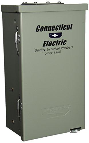 Connecticut Electric CESMPSC55GRHR 50-Amp RV PNL with 20-Amp GFCI Receptacle