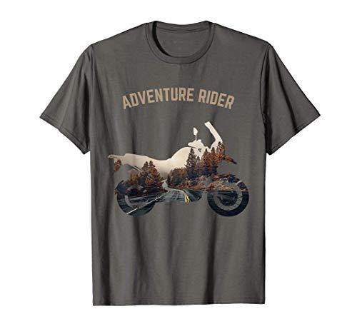 Adventure Motorcycle Biker Off Road Rider Mountain Travel T-Shirt