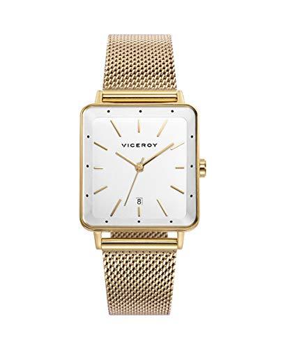 VICEROY - Reloj Acero IP Dorado Brazalete Sra Va - 471236-07