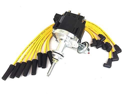 164+475HEI DISTRIBUTOR + SPARK PLUG WIRE SET FOR ENGINE 318 340 360