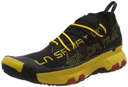 LA SPORTIVA Unika, Scarpe da Trail Running Uomo, Multicolore Nero Giallo 000, 43 EU