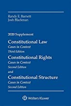 Constitutional Law: Cases in Context, 2020 Supplement (Supplements)