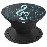 Musik - Musiknote - Handyzubehör - Halterung - PopSockets Ausziehbarer Sockel und Griff für Smartphones und Tablets