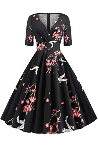 Retro 50S Rockabilly Vintage Ladies…