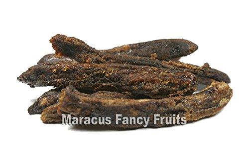 Bananen ganz am Stück getrocknet, naturbelassen, ohne Zusätze, getrocknete Bananen Früchte, unbehandelt, ein fruchtig süßer Trockenfrüchte Snack - 500g