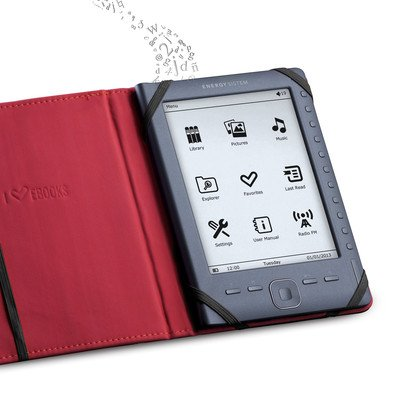 Energy Sistem 395538 - Funda blanda para ebook de 6