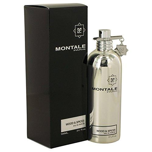 Montale Wood & Spices by Montale Eau De Parfum Spray 3.4 oz / 100 ml (Men)