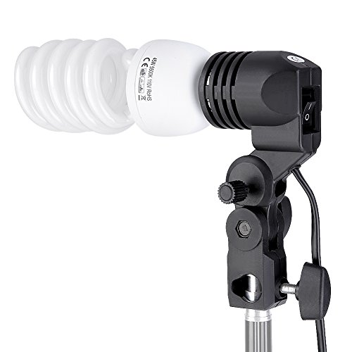 Neewer 600W 5500K Photography Photo Video Portrait Studio Day Light Umbrella Continuous Lighting Kit for Camera Video Studio Shooting Umbrella Light