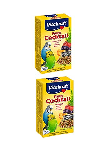 Vitakraft - 2St. Cocktail Frutti für Wellensitiche a 200g