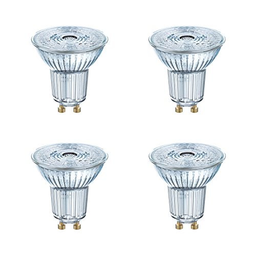 OSRAM LED STAR PAR16 35 GU10 2,6W=35W 230lm 36° Warm White 2700 K nondim A++ 4er