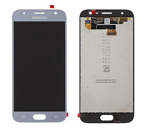 "LCD Display Samsung J330F Galaxy J3 2017 Original full silver - ASSY LCD-5.0"" HD J330F SILVER W LOGO AG"