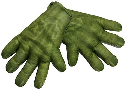 Rubie's Avengers 36348 Hulk-Handschuhe für Kinder, Einheitsgröße