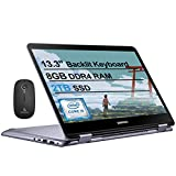 2020 Samsung Notebook 7 Spin 13 FHD 1080P Touchscreen 2-in-1 Laptop| Intel Core i5-8250U up to 3.4GHz| 8GB LPDDR3 RAM| 2TB SSD| FP Reader| Backlit KB| Win 10 + NexiGo Wireless Mouse Bundle