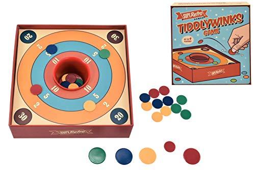KandyToys Superetro Tiddlywinks klassisches Spiel
