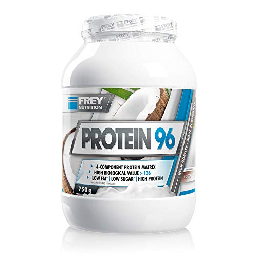 Frey Nutrition Protein 96 Cocos Dose, 1er Pack (1 x 750 g)