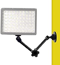 11 Inch Articulating Magic Arm Wall Mount Holder Stand for Camera LED Light, Video Lamp