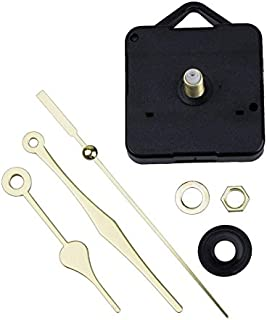 Clock Motor - Diy Wall Clock Replacement Movement Parts Repair Quartz Time Hands Motor - M2188 Gold For Battery Extra Pendulum And 24v Kit Intermatic