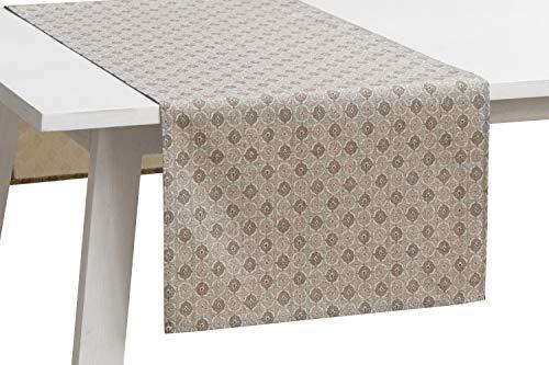 Pichler Tischwäsche Serie 'Vicky', Beton, Größe:Tischläufer 50 x 150 cm