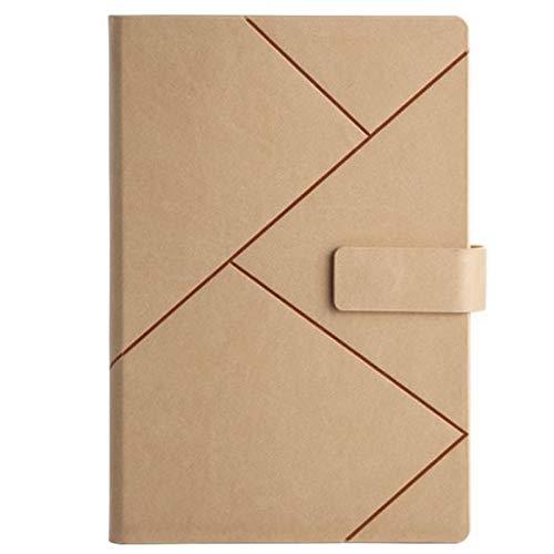 YanYun Libretas de Negocios Agenda Agenda Escuela Material de Oficina PapeleríA Cuaderno Diario de Cuero