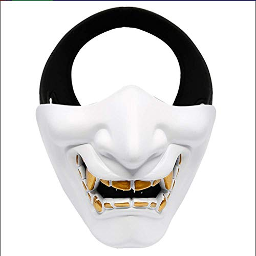SSeir Halloween Masker Creatieve Film Character Props Role-Playing Bar Party Dance Party Lach Zoals COS Devil Horror Vrouw Volwassen Man Gezicht Half Gezicht Tactische Masker Imitatie Masker