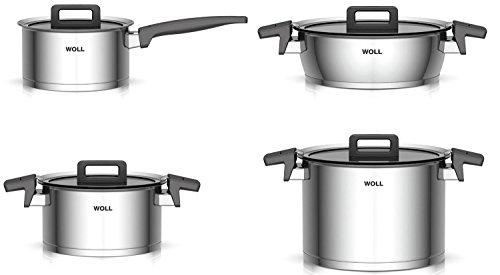 Woll Batería de cocina de acero inoxidable para