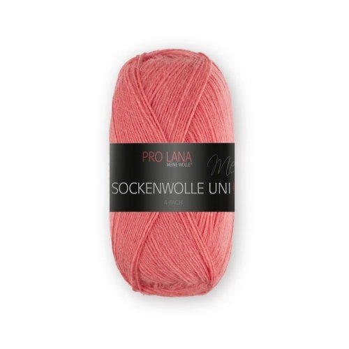 PRO LANA Sockenwolle Uni 4Fädig - Farbe: 421 - 100 g / ca. 420 m Wolle