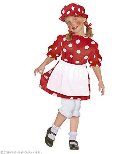 WIDMANN Disfraz de muñeca de trapo Infantil Cualquier día