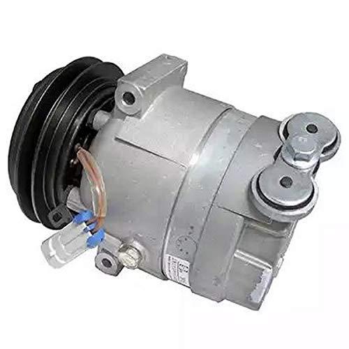 EcommerceParts 9145374929456 - Compresor de aire acondicionado para fabricante: Genuine, ID del compresor: V5, polea de diámetro: 132 mm, ID del compresor: A2, Voltaje: 12 V