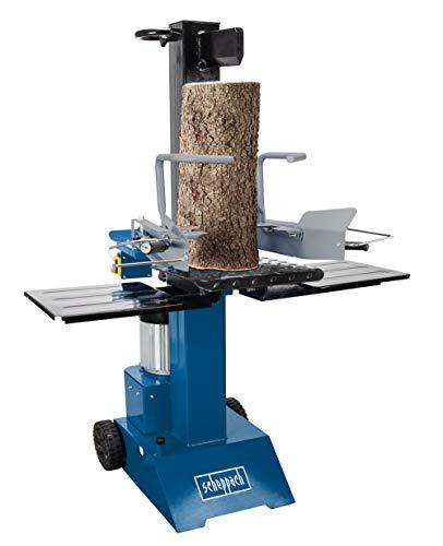 scheppach Holzspalter stehend HL815-8t Spaltkraft | 3000W | Zylinderhub 450 mm | Transporträder | Zwei-Hand-Bedienung (230V)