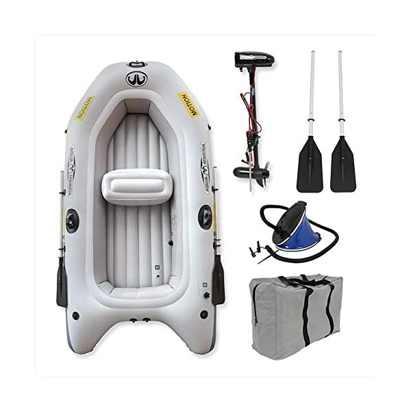 Wido Aqua Marina Inflatable Portable Motion Boat with Electric Motor Rib Tender Dinghy