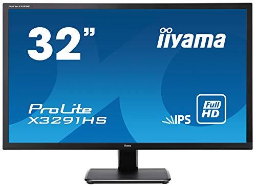『iiyama モニター ディスプレイ X3291HS-B1 (31.5インチ/フルHD/AH-IPS/HDMI,D-sub,DVI-D/3年保証)』のトップ画像