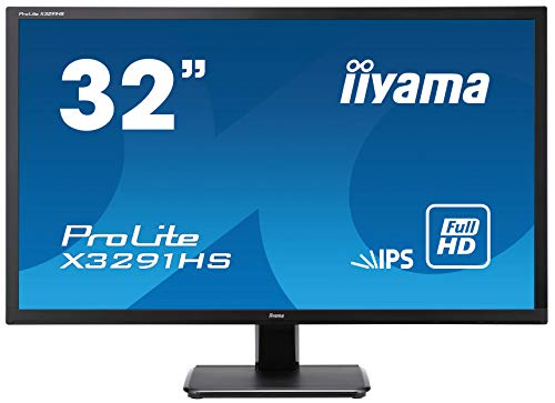 "iiyama ProLite X3291HS-B1 80,1cm (31,5"") AH-IPS LED-Monitor Full-HD (VGA, DVI, HDMI) schwarz"