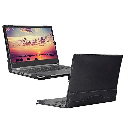 Yinghao Funda para Lenovo Yoga 530 14 Pulgadas 530-14 530-14IKB Funda para portátil Funda para portátil Desmontable Bolsa Piel Protectora Stylus Regalos-Gris_Yoga 530 14