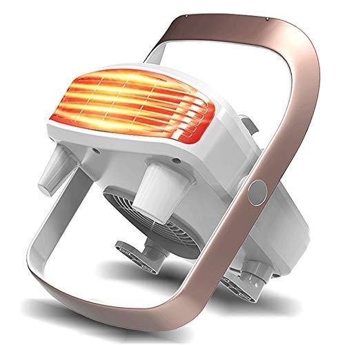 Slaapkamer Badkamer Elektrische verwarming, PTC Keramische Verwarming Plate, bescherming tegen oververhitting, IP21 waterdicht, Child Safety ontwerp, geschikt for thuis en op kantoor-White