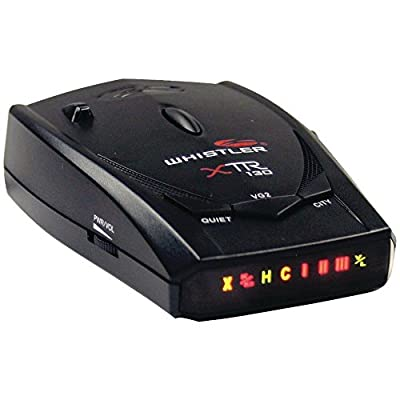 Whistler(r) Xtr-130 Xtr-130 Laser/radar Detector With Bright Icon Display
