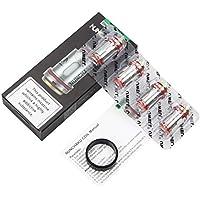 Uwell NUNCHAKU Coil 0.25Ohm Atomizador electrónico para cigarrillos Core Tank Coil Head Accesorios de Vape (4 PACK) - NUNCHAKU 0.25 Ohm