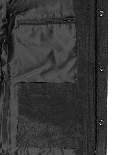 SOLID Lash Lederjacke, Größe:XL;Farbe:Black (9000) - 4