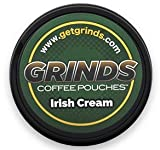Grinds Coffee Pouches - 6 Cans - Irish Cream - Tobacco Free Healthy Alternative