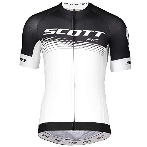 Scott RC Pro 2019 Fahrradtrikot, weiß/schwarz, L (50/52)